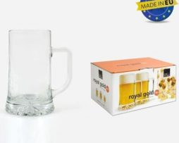 ROYAL-LEERDAM-Jarra-Cerveza-Royal-Gold-Set-6-Royal-Leerdam-50-Cl-0