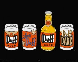 The-Simpsons-4-cervezas-Duff-Pster-de-40-x-50-cm-0