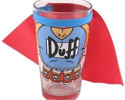 The-Simpsons-Duff-Hombre-bebiendo-cerveza-Vaso-de-una-pinta-con-Cabo-0