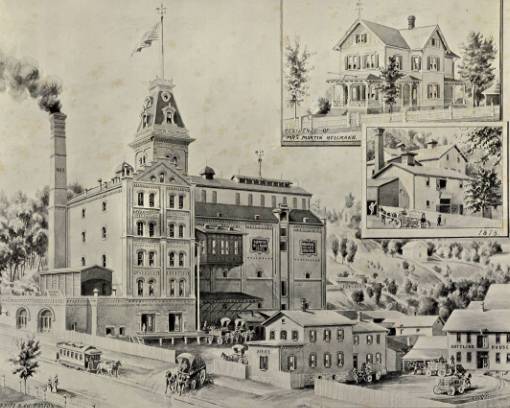 fabrica de cerveza antigua