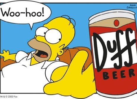 Enorme-laminadaTV-encapsulados-yp-Homer-Simpson-cerveza-Duff-Pster-36-x-cm-6096-915-x-61-cm-0