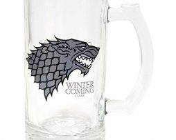 Juego-de-Tronos-SDTSDT27345-Jarra-para-cerveza-de-cristal-diseo-Stark-Winter-Is-Coming-SD-Toys-SDTSDT27345-Jarra-Winter-is-Coming-Stark-0