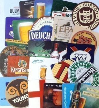 Posavasos-Cerveza-Tradicional-de-Bar-Paquete-de-25-Serie-4-0